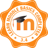Learn Moodle 3.4 Basics completer